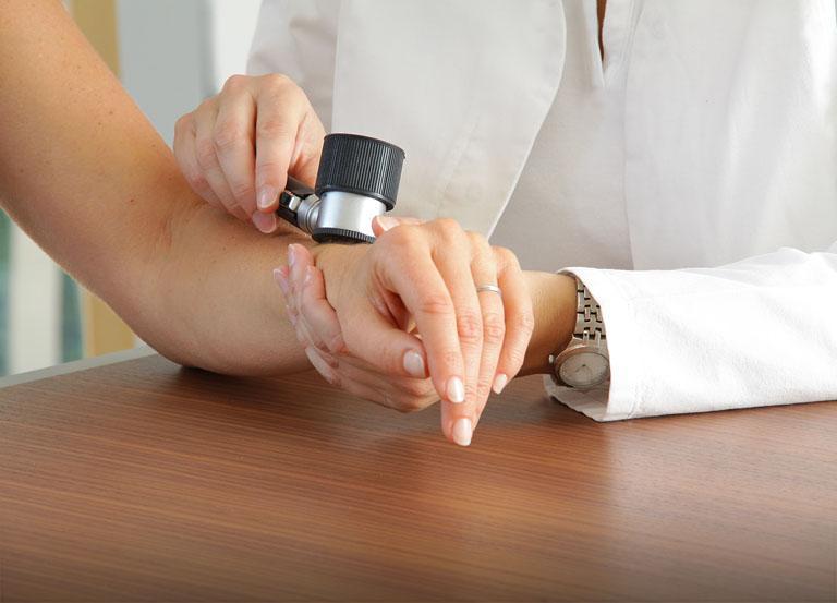 Dermatologia - badanie skóry